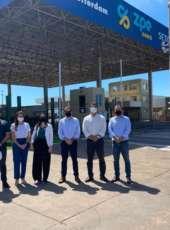 Comitiva do Rio de Janeiro visita instalações do Complexo do Pecém